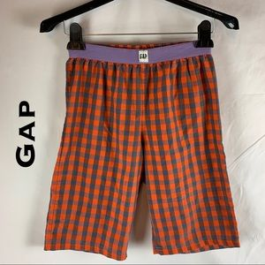 👑 Gap Orange and Purple Sleep Shorts